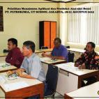 Pelatihan Manajemen Aplikasi & Produksi Alat Berat (in class)